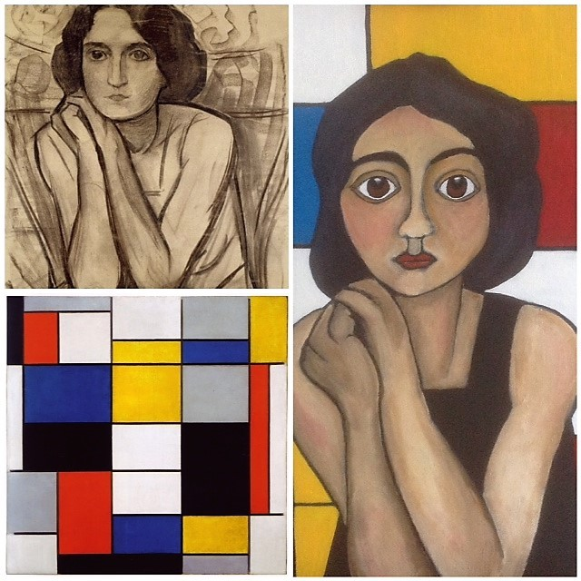 Mondriaan Collage